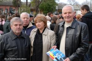 Colegi ai lui Gheorghe Ghimpu din Frontul Popular, Grigore Pătraşcu şi Gheorghe Cârlan