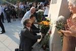 Inaugurarea Monumentului în memoria victimelor deportărilor regimului comunist
