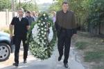 Înmormântarea colegului Nicolae Andronachi